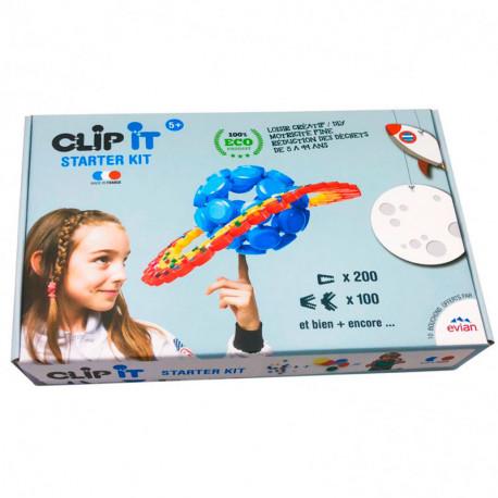 Clip It Starter Kit - juego de construcción con tapones reciclados