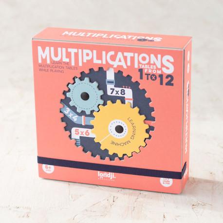 Multiplication Learning Machine - La máquina de las tablas de multiplicar