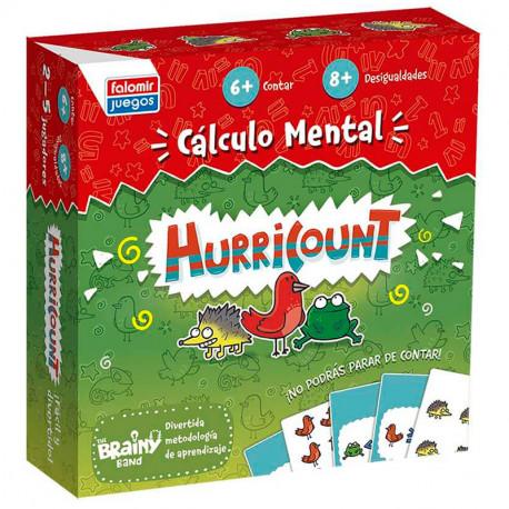 Hurricount - Juego de cálculo mental para 2-5 jugadores