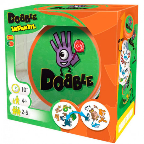 Dobble Kids Infantil - juego de cartas de atención