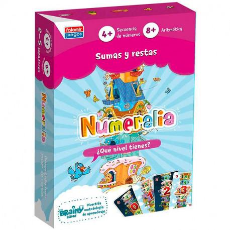 Numeralia - Juego de cálculo mental para 2-5 jugadores