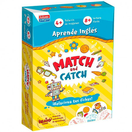 Match and Catch - Juego para aprender inglés para 2-5 jugadores