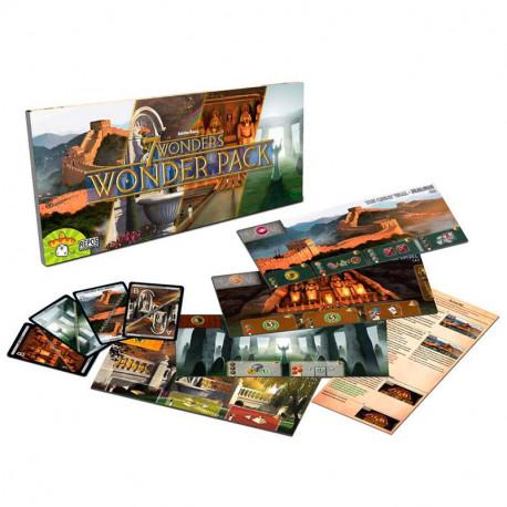 7 Wonders Wonderpack - expansión para el juego básico