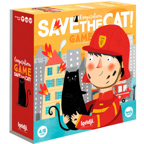 Save the Cat! - juego cooperativo familiar para 2-8 jugadores