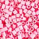 3000 perlas Hama Midi rosa pastel (bolsa)