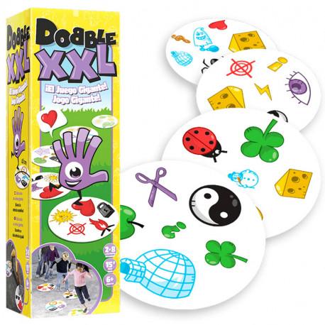 Dobble XXL - juego de cartas de atención de gran formato