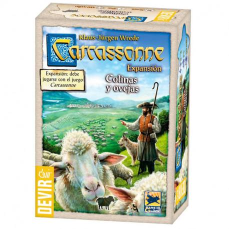 Carcassonne expansión Colinas y Ovejas - Juego de estratégia ed. 2019