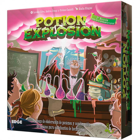 Potion Explosión (2ª Ed.) - hechizante juego de combinaciones para 2-4 jugadores