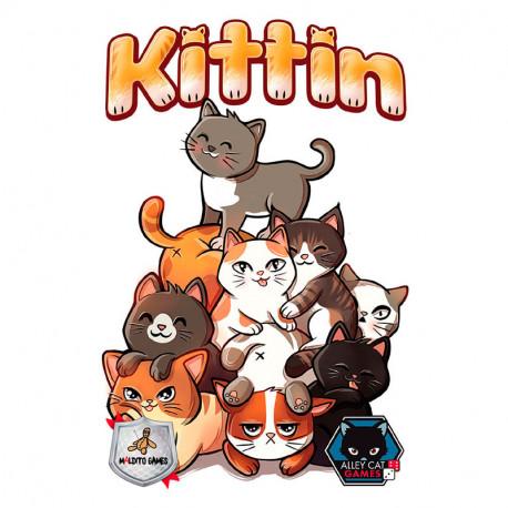 Kittin - Juego de apilar para 2-8 jugadores