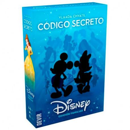Código Secreto Disney - juego de adivinar dibujos Edición Familiar