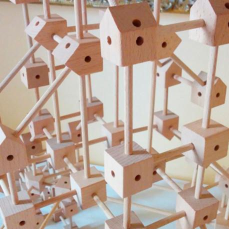 Mini Trígonos 5XL 550 piezas - juego de construcción creativo