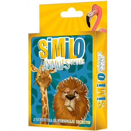 SIMILO Animales Salvajes - juego cooperativo con pistas