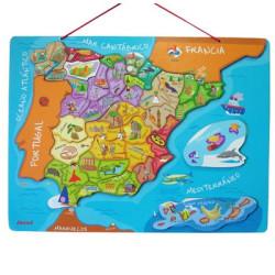 Puzzle España Magnético
