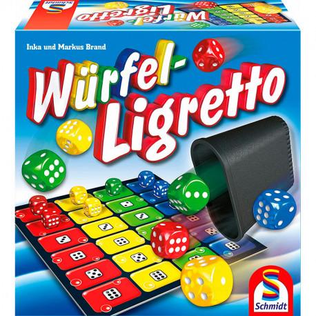 Würfel Ligretto - juego de dados para 2-4 jugadores