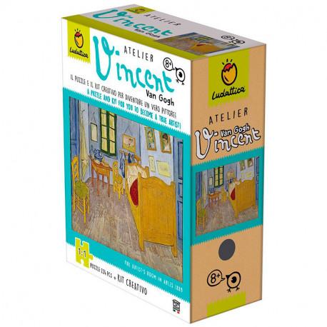 Art Atelier Vincent Van Gogh - Kit Creativo + Puzzle de 224 piezas