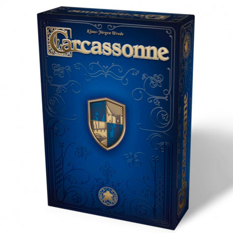 Carcassonne 20º Aniversario- Juego de estrategia + 2 mini expansiones