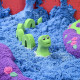 Mad Mattr - masa arenosa moldeable color azul wonder