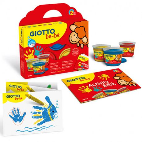 Giotto be-bé - Set Super Colores de dedos