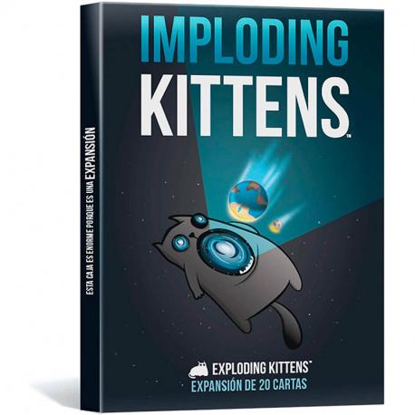 Imploding Kittens - 1ª Expansión con 20 cartas