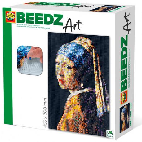 Art amb perles - Beedz Art La Jove de la Perla de Veermer