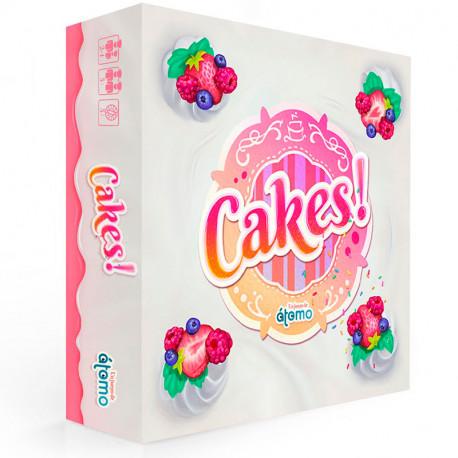 Cakes! - juego de habilidad para 2-4 jugadores