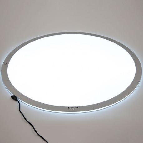 Mesa de Luz Led portátil redonda 60 cm