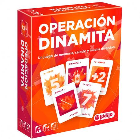 Operació Dinamita - joc de càlcul i memòria per a 2-6 jugadors