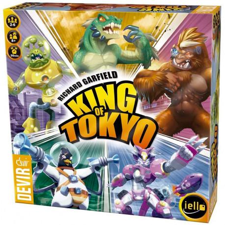 King of Tokyo - monstruoso juego de mesa