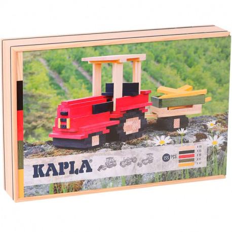 KAPLA Caja Tractor - 155 placas e instrucciones