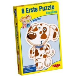 6 Primeros puzzles - Animales domésticos
