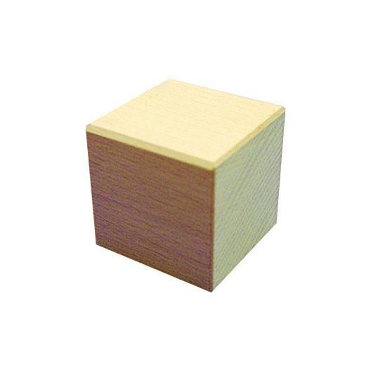 Cubo 50x50x50mm bloque de madera de construcci n for Cubo de luz para jardin