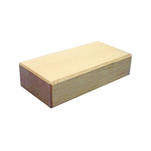 Sillar (bloque rectangular) 50x25x100mm Bloque de madera de construcción