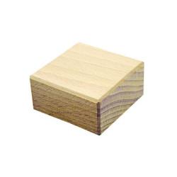 Ladrillo 50x25x50mm bloque de madera de construcción