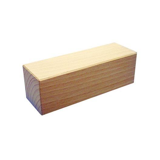 Bloque 50x50x150mm de madera de construcción