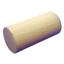 Cilindro largo Ø48x100mm Bloque de madera de construcción