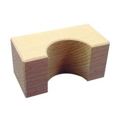 Arco de puente 50x50x100mm Bloque de madera de construcción