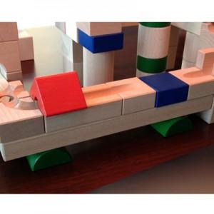 Listón largo (bloque rectangular) 50x25x300mm Bloque de madera de construcción