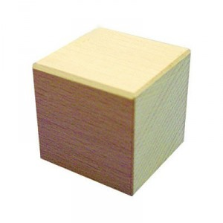 15 Cubos 50mm Bloques de madera de construcción