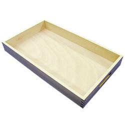 Caja machihembrada de haya para 60 cubos