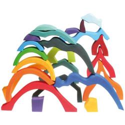 Bloques de construcción - Los cuatro elementos naturales