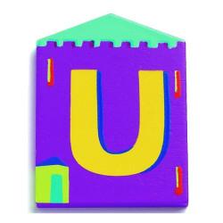 Letra casita - U
