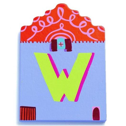 Letra casita - W - últimas unidades