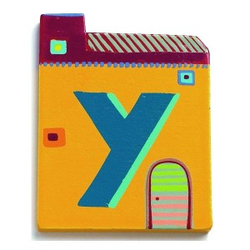 Letra casita - Y