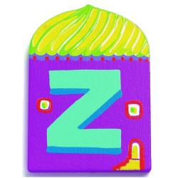 Letra casita - Z