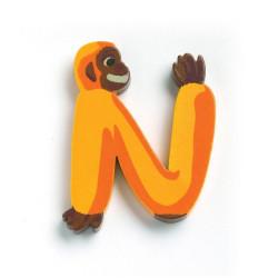 Letra Animales - N
