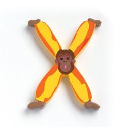 Letra Animales - X