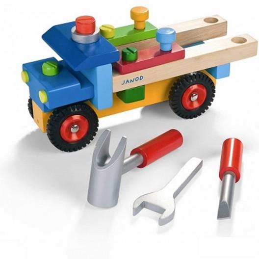 Camión Bricolaje con 17 piezas
