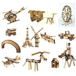 TomTecT 180 piezas - Cofre pequeño con plaquitas de construcción