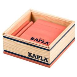 KAPLA color rosa - 40 placas de madera