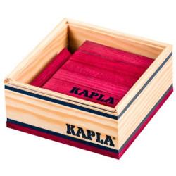 KAPLA color morado - 40 placas de madera